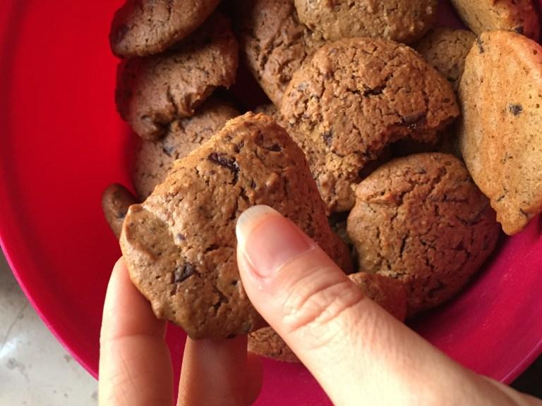 biscotti facili e veloci coockies vegani