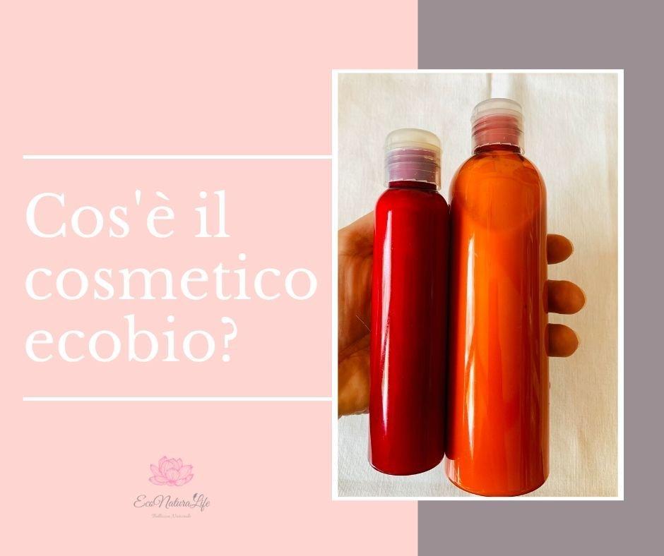 cosmetico eco-biologico