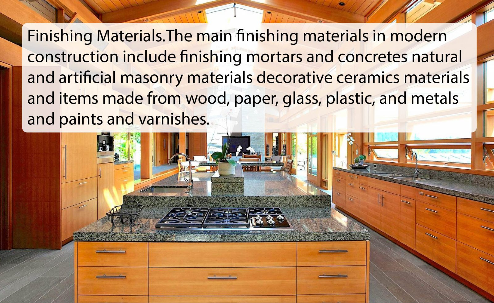 finishing material