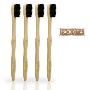 Bamboo Toothbrush (Pack of 4)