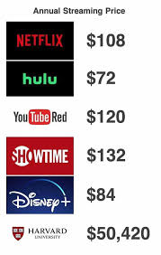 dopl3r.com - Memes - Annual Streaming Price NETFLIX $108 hulu $72 ...