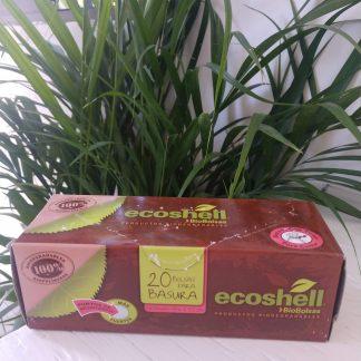 Bolsa para basura biodegradable Ecoshell