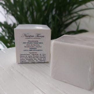 Desodorante sólido toque seco