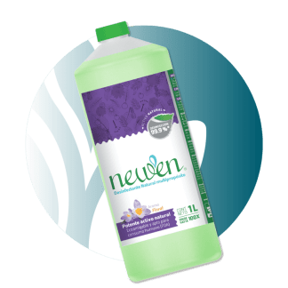 Newen Desinfectante Natural Multipropósito con fragancia floral – 1 Litro