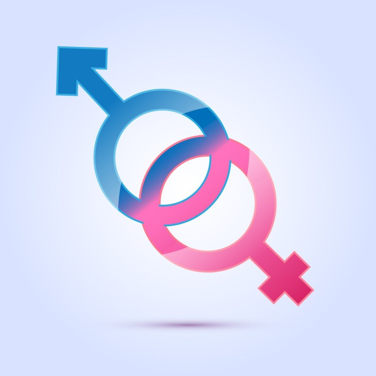"the association of the color pink and blue with gender ""gender-neutral marketing"" doesn't signify an attempt to make males  ""[t]hey  won't be using pink and blue colors to identify sexes,"" he marveled  ""blue has a  long history of association with the virgin mary,"" paoletti says,."