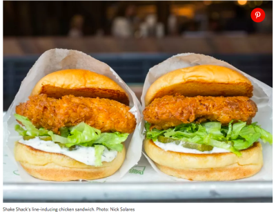 fried chicken sandwich competition
