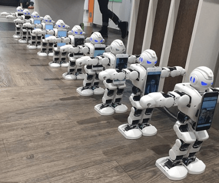 Robot queues