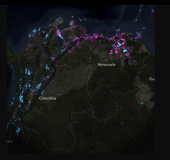 nighttime satellite images