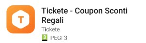 Tickete coupon sconti buoni