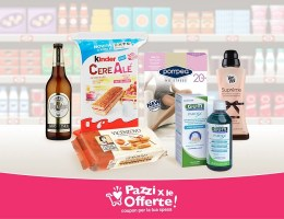 nuovi coupon scaricabili sull'app pazzi per le offerte