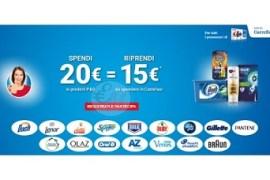 ricevi 15 euro in buoni spesa