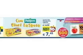 vinci card esselunga con pampers