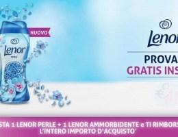 prova gratis lenor + perle