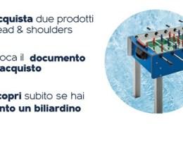 head & shoulders in palio biliardini