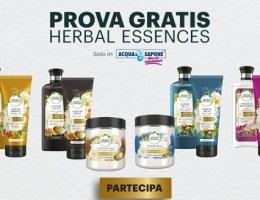 rimborso herbal essences da acqua e sapone