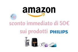 sconti di 50 euro amazon philips