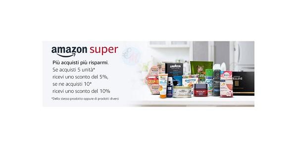 amazon più acquisti più risparmi