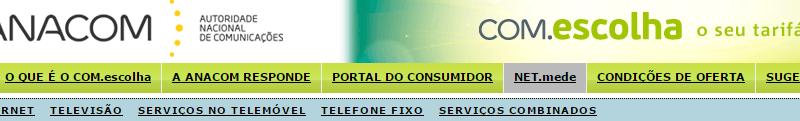 Com.Escolha Comparador oficial de preços de telecomunicações