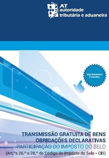 Imposto de selo transmissões gratuitas