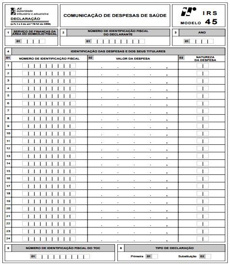 Novos Modelos 45, 46 e 47 (IRS 2015)