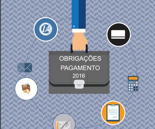 Obrigações de Pagamento em 2016