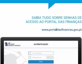 Senha na Hora Portal das Finanças