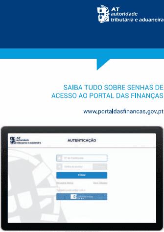 Pedir a senha de acesso ao Portal das Finanças