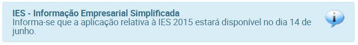 Informações sobre a IES 2016