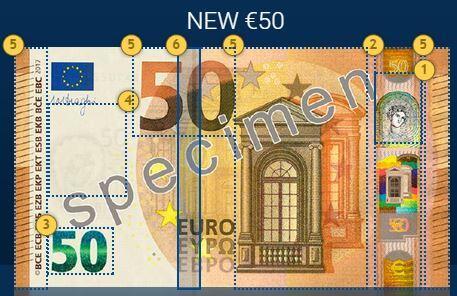 Nova Nota de 50 Euros