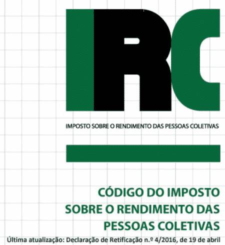 Código do IRC 2016