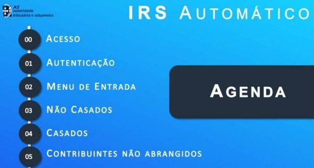Ajuda para o IRS Automático