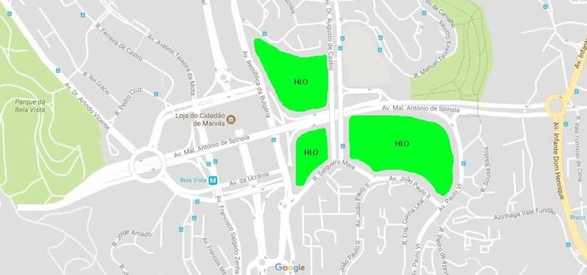 Localização do Novo Hospital de Lisboa Oriental - HLO