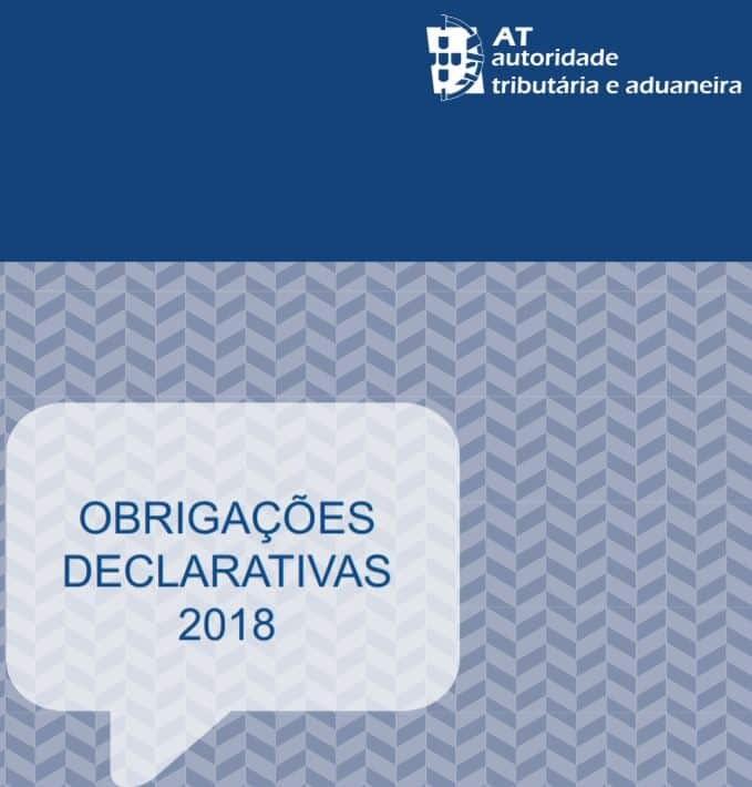 Agenda Fiscal- Obrigações Declarativas 2018