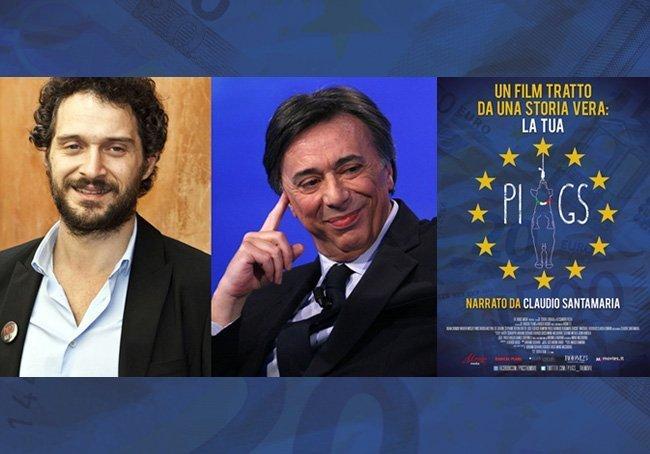Claudio Santamaria e Carlo Freccero presentano PIIGS