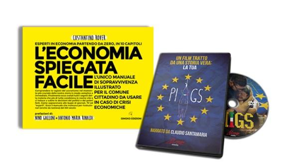 libro di economia spiegata facile + dvd PIIGS