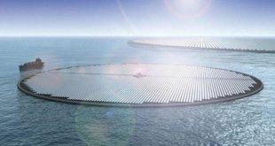 Holanda construirá la primera planta solar flotante sobre el mar del mundo