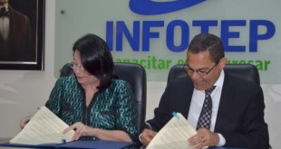 Fundación Reservas del País-INFOTEP establecen alianza para capacitación en 600 microempresas