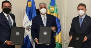 RD y Brasil suscriben acuerdo para impulsar comercio