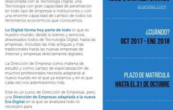Dirección de empresas en la era digital, Adolfo Castilla Garrido