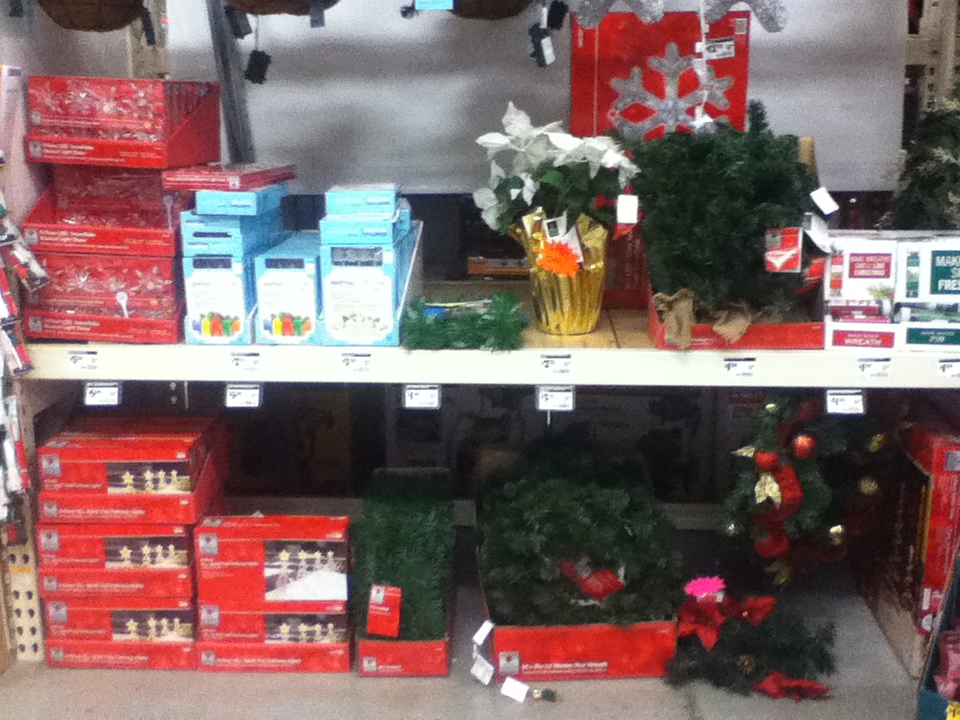 Home Depot Holiday Clearance 75% Off
