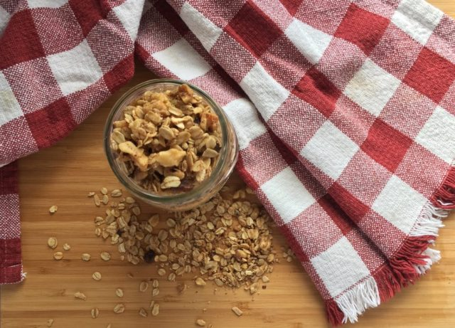 Healthy Homemade Granola Main