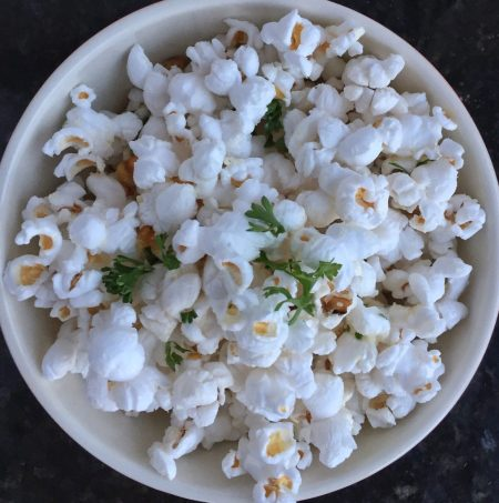 Flavored Popcorn Recipes Parmesan