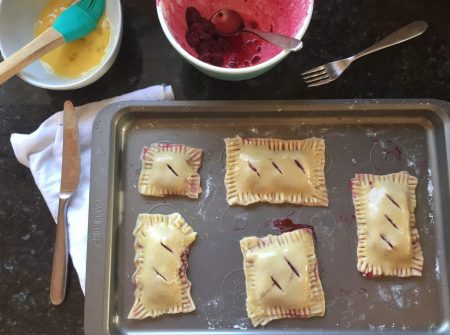 About to Bake Homemade Pop Tarts