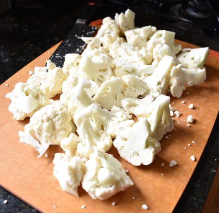 How to Make Cauliflower Rice Chopped
