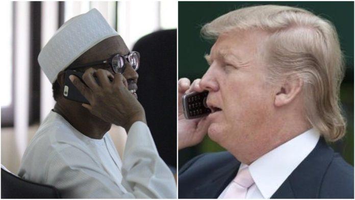 Muhammadu Buhari, Donald Trump