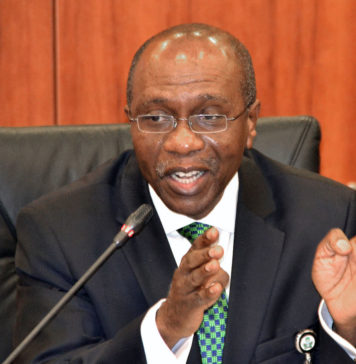 CBN Governor, Godwin Emefiele
