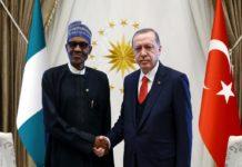 President Muhammadu Buhari and The President Of Turkey, Recep Tayyip Erdogan