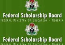 Federal Scholarship Board FSB Nigeria