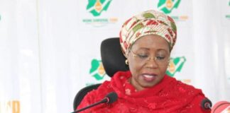 Mrs Mariam katagum Minister of state for Industry Trade and Investment