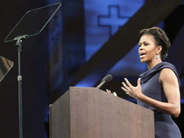 Michelle Obama speaks about work of faith, community ...